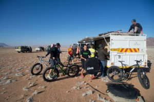 namibia fat bike set up