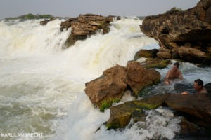 ngonye falls western zambia