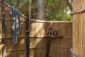 nsolo camp outdoor shower
