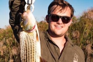 okavango delta botswana frank with fish