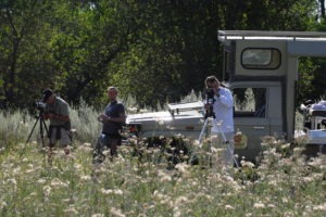 photographic safari botswana vehicle