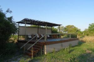 sango safari camp khwai pool
