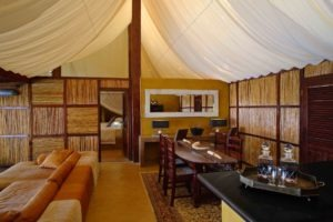 sausauge tree camp kigelia lounge