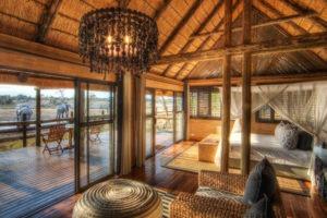 savute safari lodge guest room interior