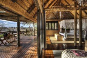 savuti safari lodge room view