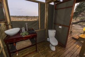 skybeds khwai reserve toilet