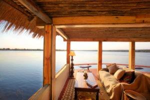 tongabezi lodge livingstone jetty views