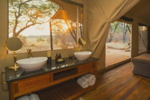 verneys camp hwange bathroom sink