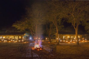 verneys camp hwange fireplace