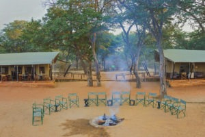 verneys camp hwange fireplace pano