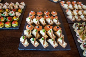 Berlin Office Opening Canapes