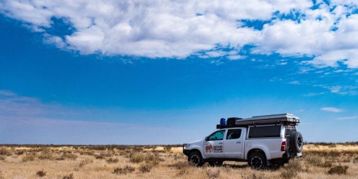 Central Kalahari Botswana Safari Vehicle