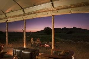 Desert Rhino Camp Evening