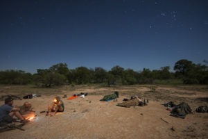Greater kruger natioanl park sleep out