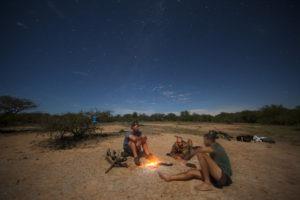 Greater kruger national park sleep under stars camping walking safari