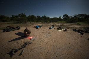 Greater kruger national park sleepout under stars