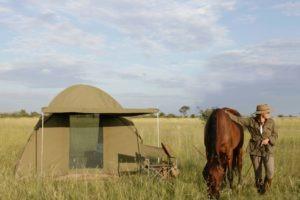 Makgadikgadi Botswana horse riding fly camp