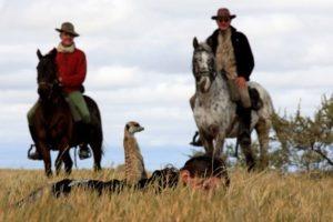 Makgadikgadi Botswana horse riding meerkat encounter
