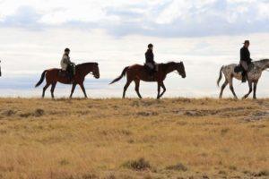Makgadikgadi Botswana horse riding plains