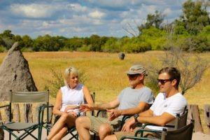 Northern Botswana Khwai Relax Family Safari