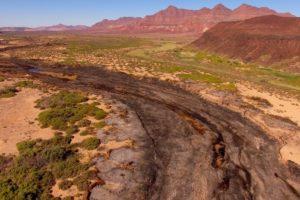 Northern Namibia vast landscape photography