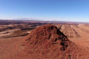 Northern namibia damaraland dessert aerial photography