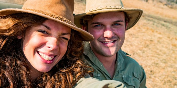 safari with gesa and frank
