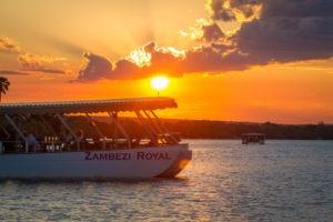 boat cruise victoria falls