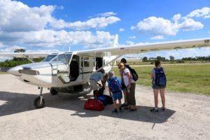 gannon family flying safari