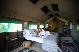 golden africa safaris bed guest