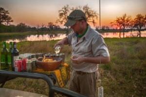 golden africa safaris sundowner