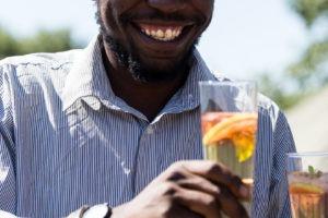 golden africa safaris welcome drinks