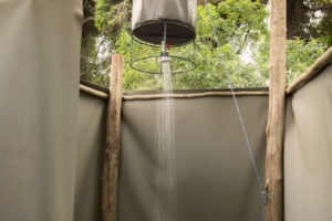 pafuri camp shower