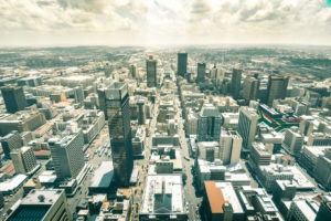 south africa johannesburg aerial