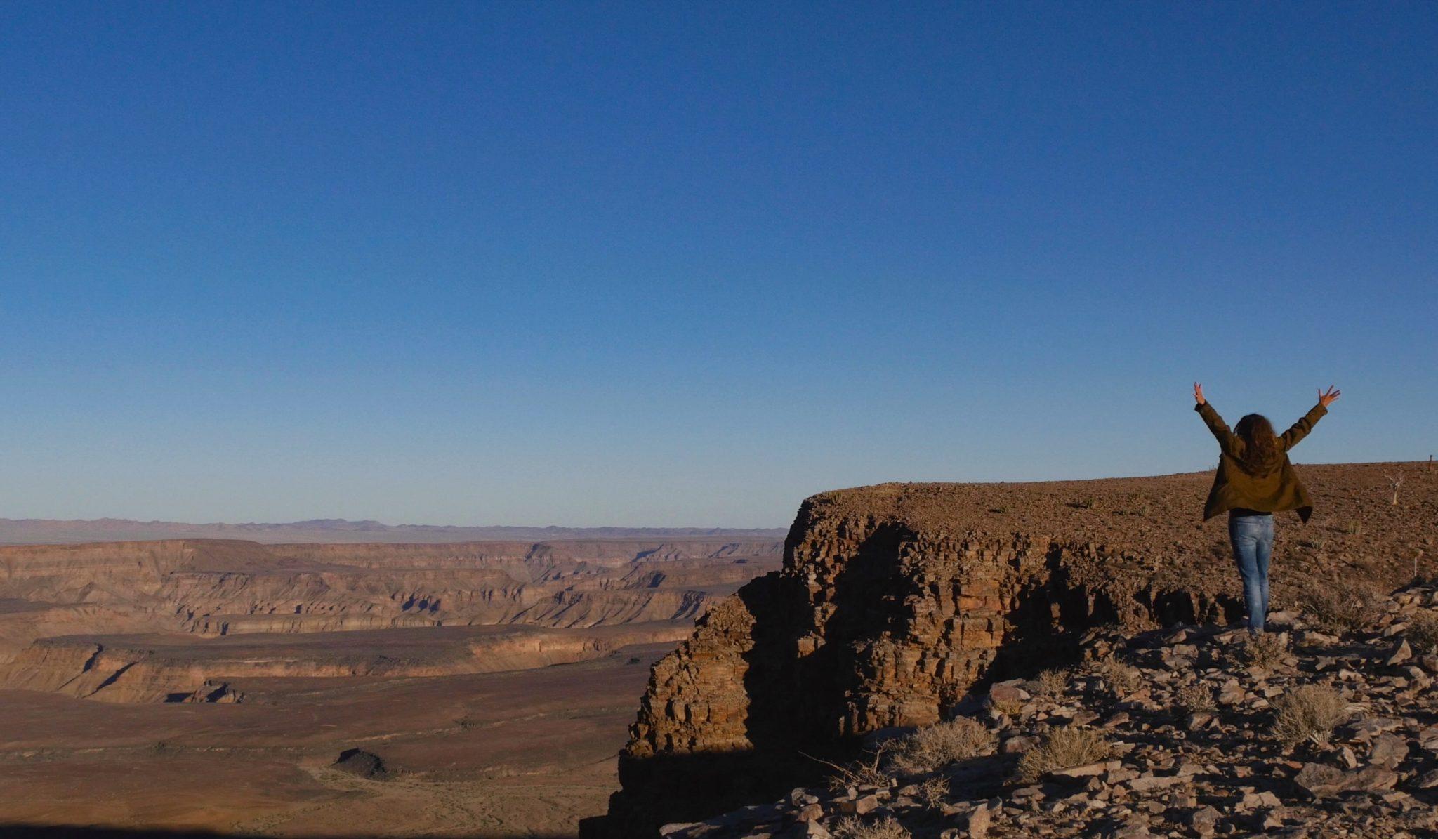 southern namibia fish river canyon views