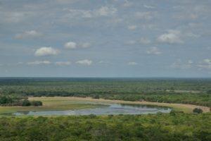 zambia kasanka Wasa Lake Aerial