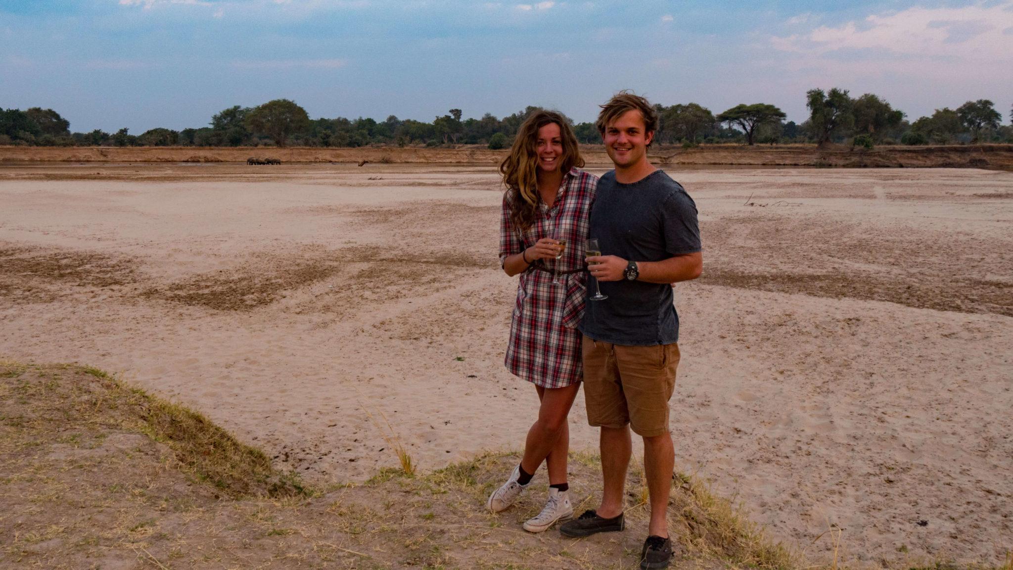 zambia luangwa valley frank and gesa