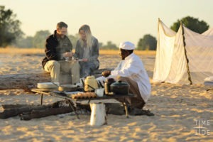zambia south luangwa walking safari sleeppout breakfast