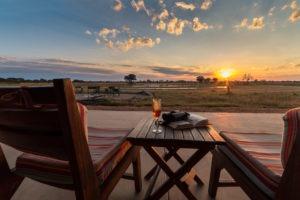 zimbabwe camp hwange views