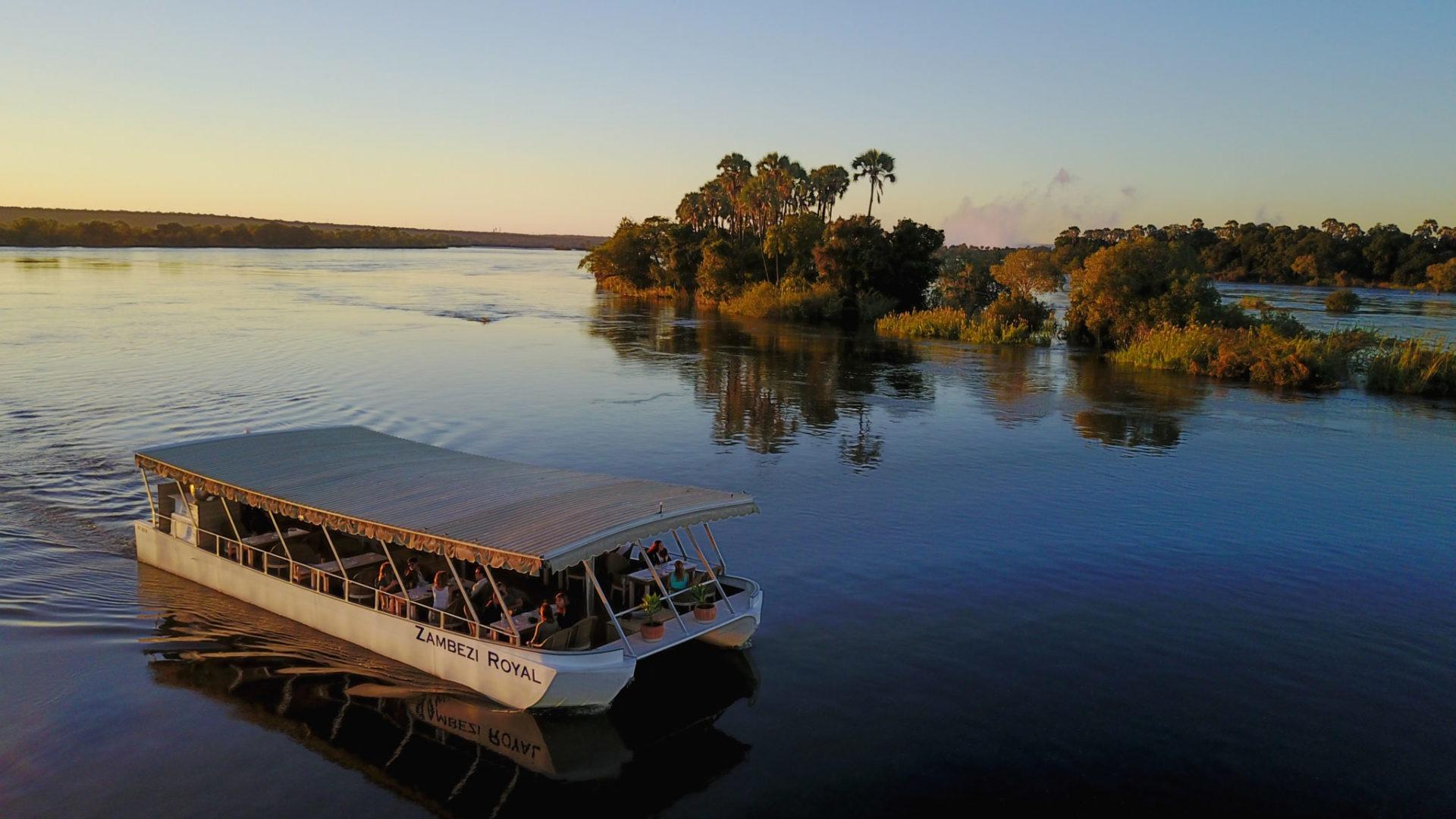 zimbabwe victoria falls boat cruise