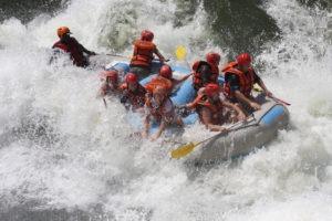zimbabwe victoria falls rafting adventure