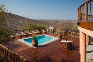 11Etosha Mountain Lodge Accommodation Swimming pool