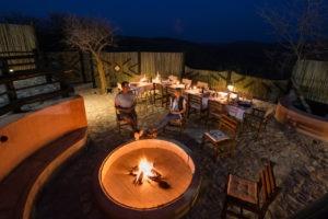 8Etosha Mountain Lodge Accommodation Firepit