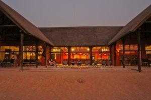 Hobatare Lodge main area