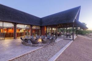 Hobatare Lodge outside