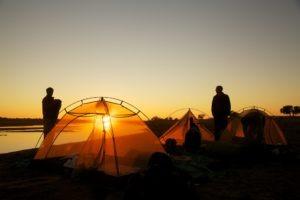 gonarezhou walking safaris sunset