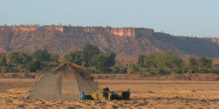 gonarezhou walking safaris tent landscape