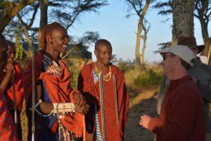 maasai tanzania guests
