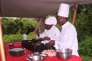 mysigio camp tanzania breakfast