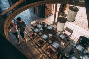 greystoke mahale dining area